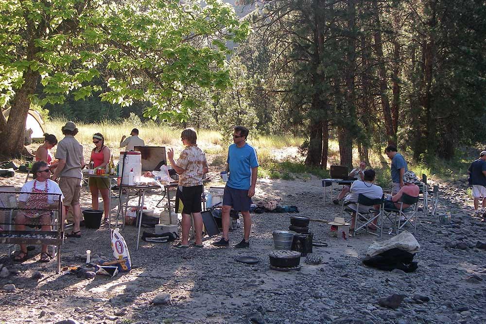 Wallowa Grande-Ronde camp
