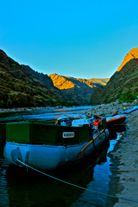Hells Canyon boats