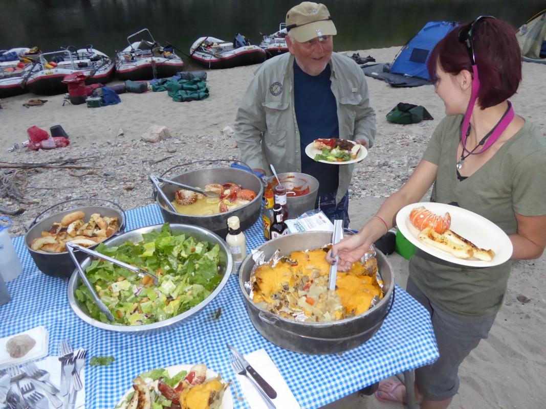 Our River Menu - Hughes River Expeditions