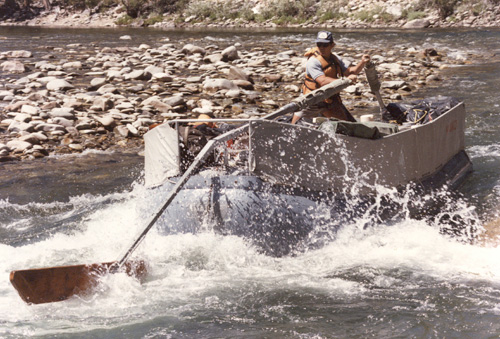 Jerry Sweepboat