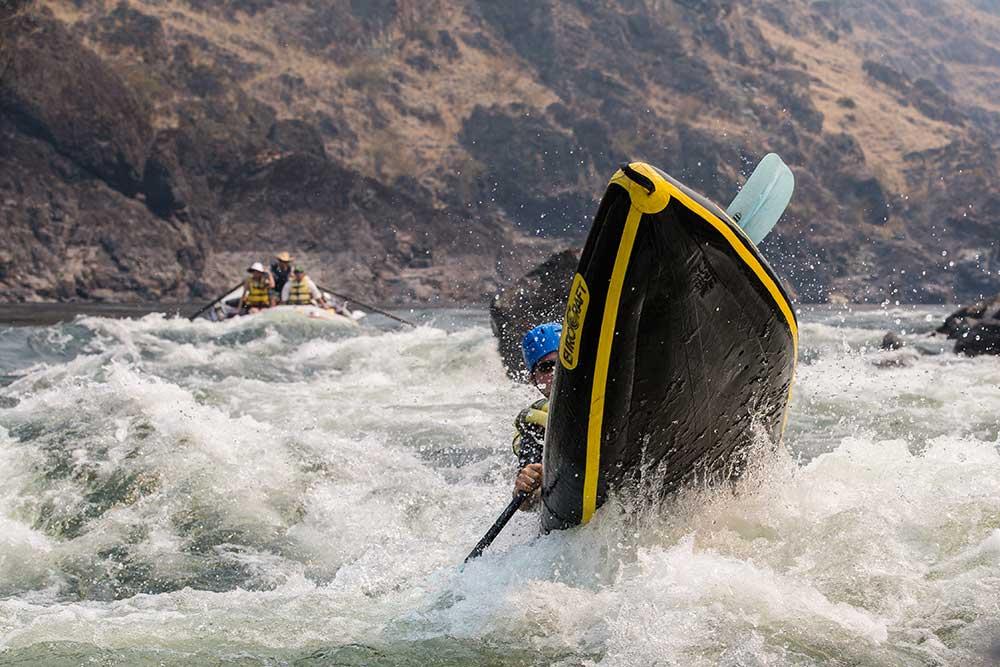 Salmon River Canyons Raft Expedition - Inflatable Kayak
