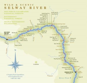 Selway River Map