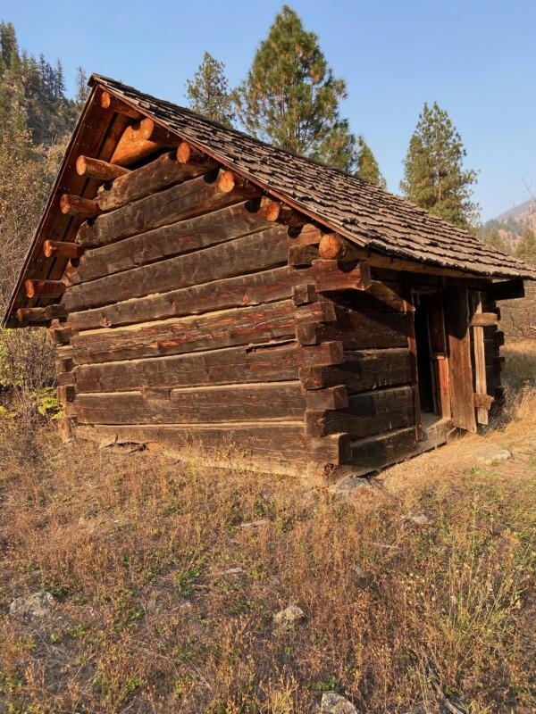 historic cabins main salmon