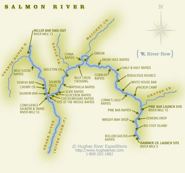 Salmon River Caynons